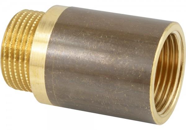Gewindeverlängerungen aus Messing mit Innenvielkant - DIN 3523