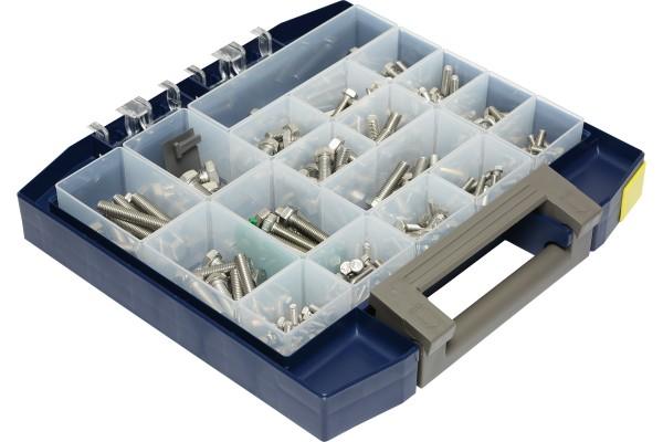 Multibox Sechskantschrauben DIN 933 aus Edelstahl