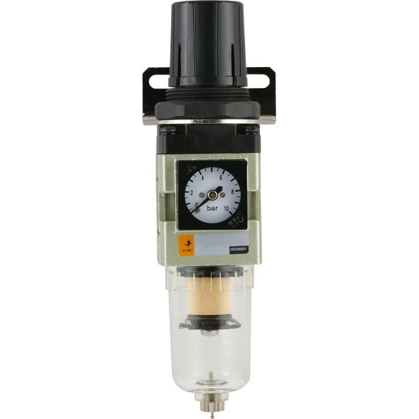 Druckluft Filterregler mit Manometer