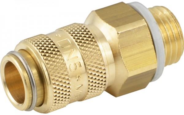 Druckluftkupplung mit Außengewinde - NW 5