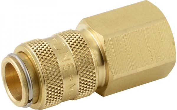 Druckluftkupplung mit Innengewinde - NW 2,7