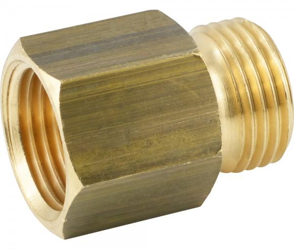Gewindeverlängerung mit zylindrischem Außen- und Innengewinde
