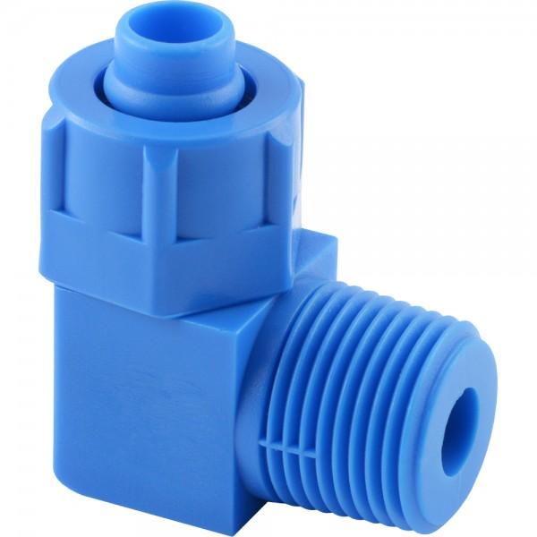 CK - Winkel-Verschraubungen - konisches Gewinde (Kunststoff)