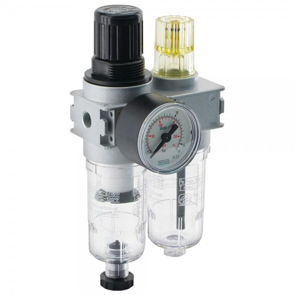 Wartungseinheiten Druckminderer 2-teilig Baureihe 0, 700 l/min
