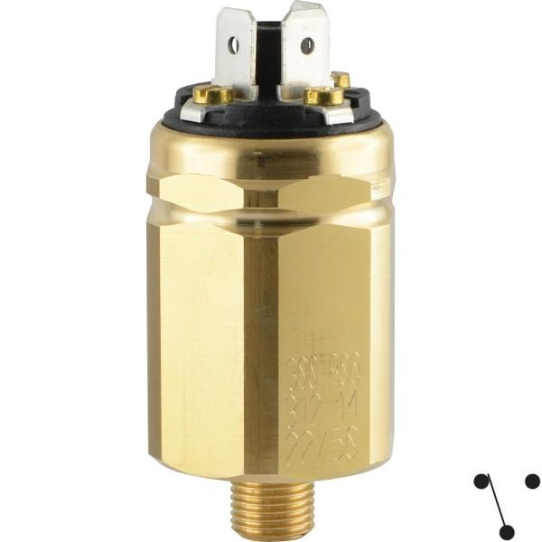 Vakuumschalter mit Flachstecker (-0,98 bis -0,2)