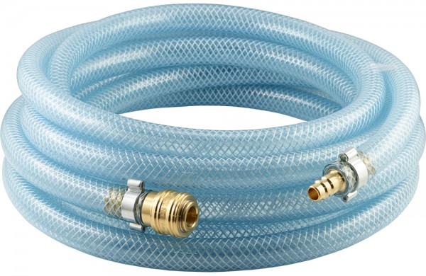 PVC-Schläuche mit Gewebeeinlage - Komplett mit Druckluftkupplung und Stecker - NW 7,2