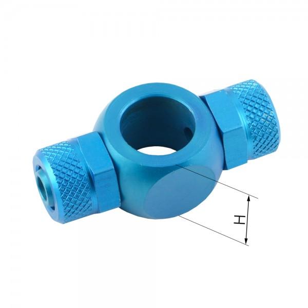 CK - T-Verschraubung-Ringstücke (Aluminium)