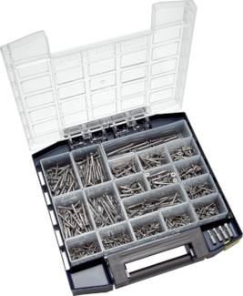 Multibox Spanplatten-Senkkopfschrauben (TORX) aus Edelstahl