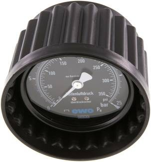 Manometer für Handreifenfüller 80mm - 15,9 mm Stutzen