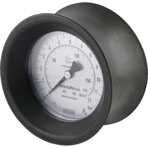 """Manometer für Handreifenfüller - 80mm, 0 - 12 bar, G 1/4"""""""