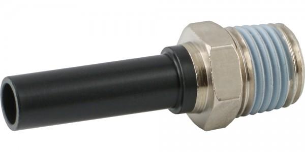 Steckanschluss-Einschraubtüllen (R-Gewinde / metrischer Nippel)