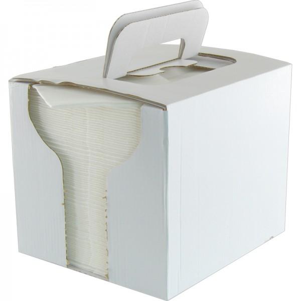 Präzisionswischtücher in Spenderbox (80 Blatt)