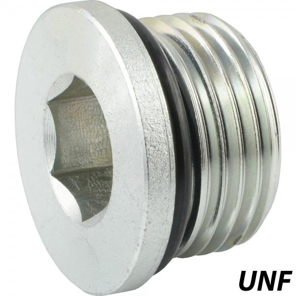Verschlussschrauben mit O-Ring mit UNF-Gewinde
