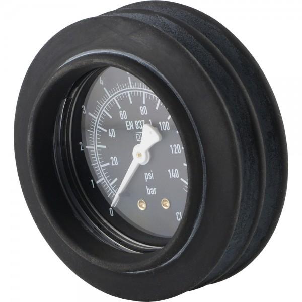 Manometer stoßgesichert für Handreifenfüller Ø 63, 80 mm