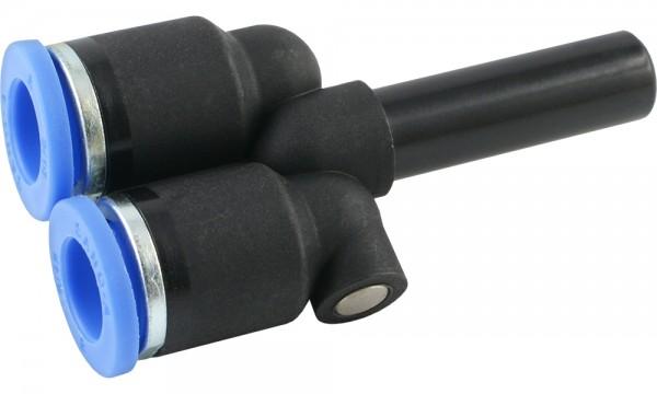 Y-Steckverbindung mit Stecknippel (auch reduzierend)