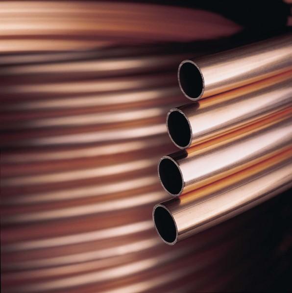 Kupfer-Installationsrohre in Ringen - weich (R 220) - DIN EN 1057 / DVGW
