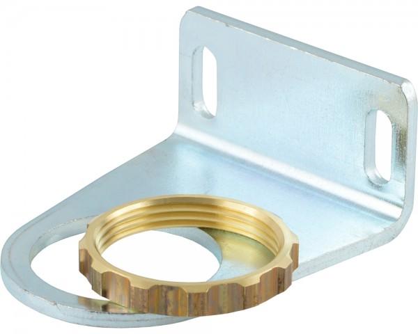 MULTIFIX Befestigungswinkel mit Ring und Schalttafelmutter (M 30 x 1,5)