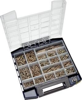Multibox Spanplatten-Senkkopfschrauben (TORX)