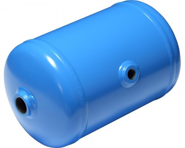 Druckluftbehälter für stationären oder mobilen Einsatz (Blau)