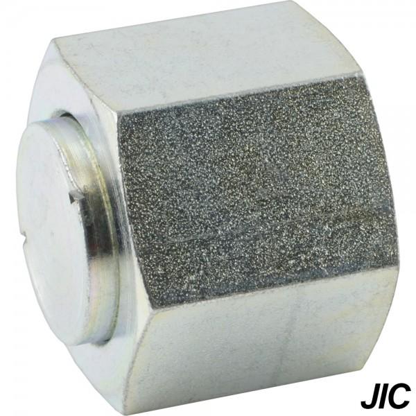 Verschlusskappen mit JIC-Gewinde