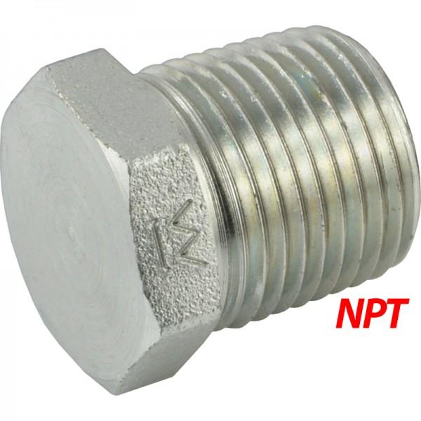 Verschlussschrauben mit NPT-Gewinde
