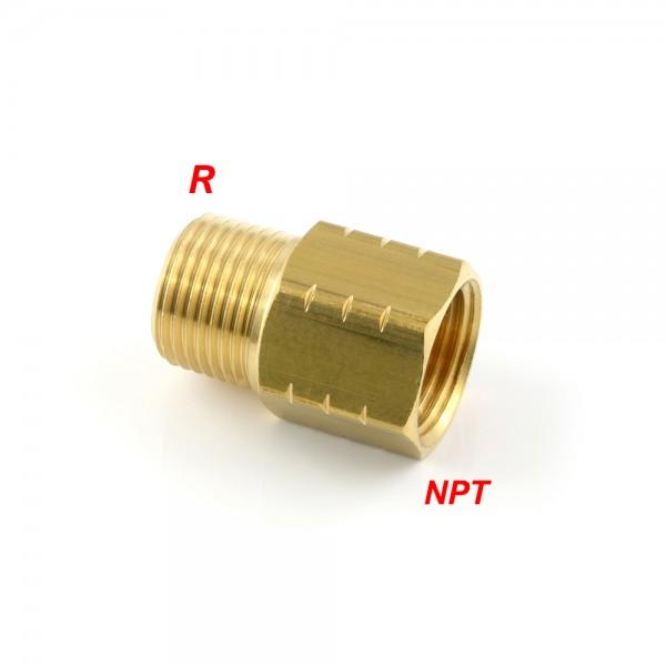 Reduziernippel mit R-Gewinde / NPT-Gewinde