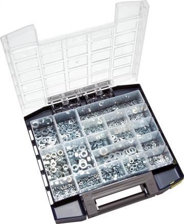 Multibox Muttern - Unterlegscheiben - Federringe