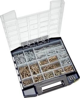Multibox Spanplatten-Senkkopf- und Panhead-/Halbrundkopf-Schrauben (TORX)