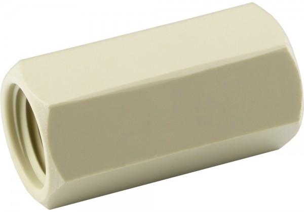 Muffe aus Kunststoff