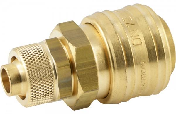 Druckluftkupplung mit Überwurfmutter - NW 7,2