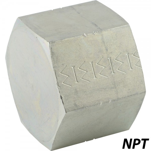 Verschlusskappen mit NPT-Gewinde